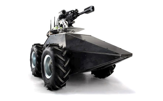 Mega Hurtz Paintball Robot