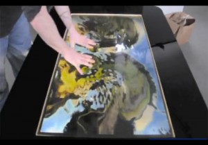 Touchscape Multi-Touch Table (video)