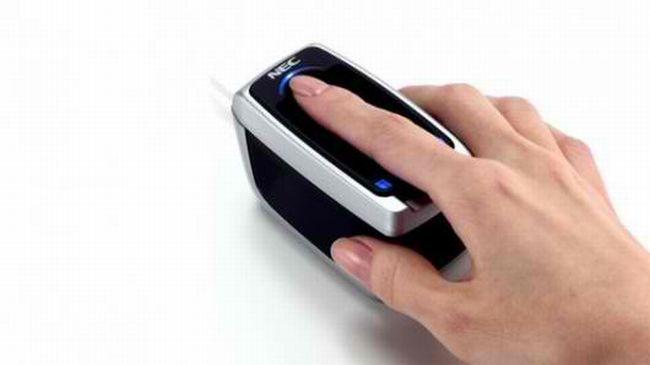 NEC finger scan