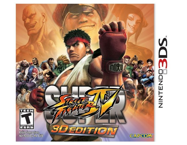 Nintendo 3DS Super Street Fighter