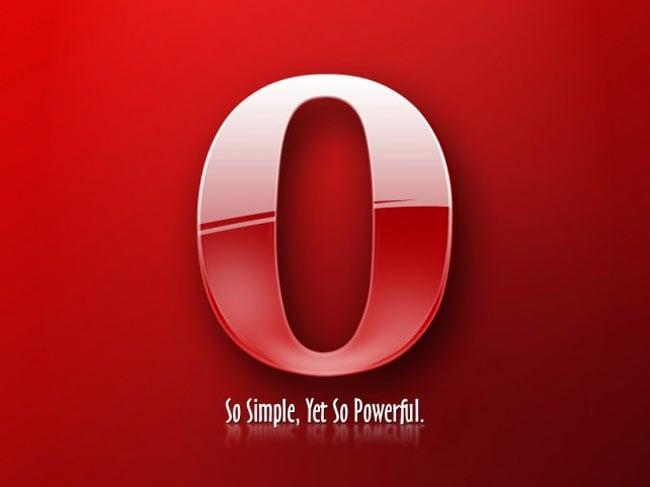 Opera iPad App