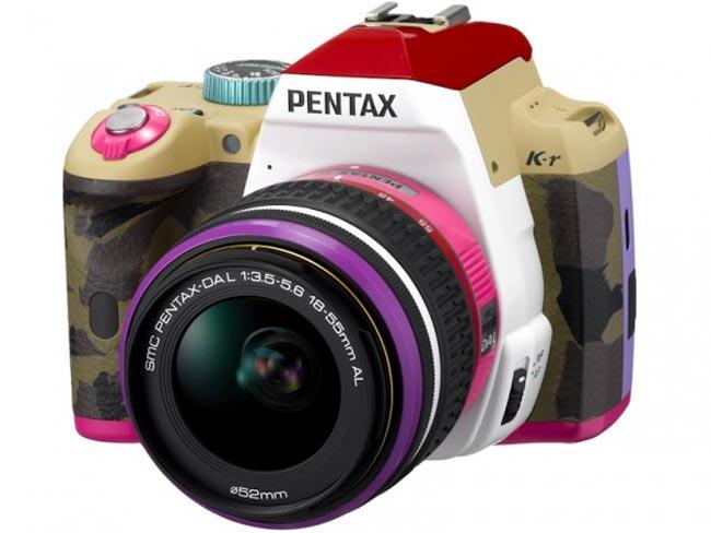 Pentax K-r 'Bonnie Pink' DSLR