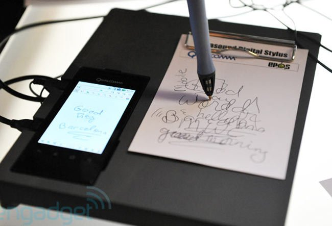 Qualcomm Ultrasonic Pen