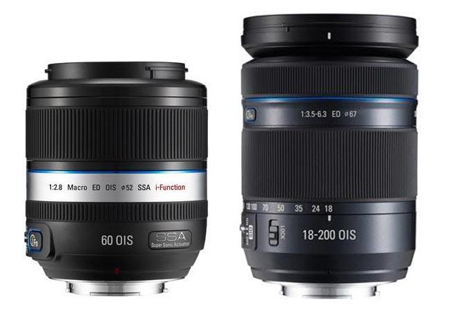 Samsung NX Lenses