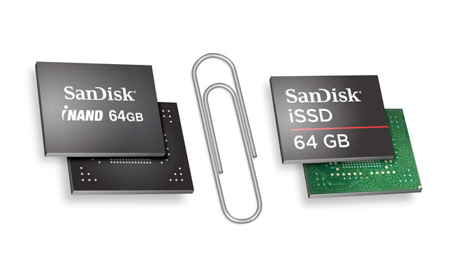 SanDisk iNAND And iNAND Ultra Flash Storage