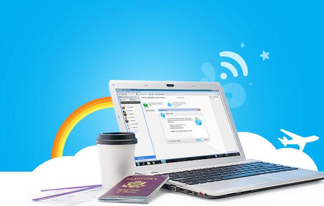 Skype Internet Access