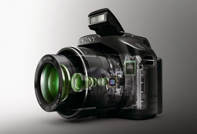 sony hx100 and hx9v cyber shot cameras announced. Black Bedroom Furniture Sets. Home Design Ideas