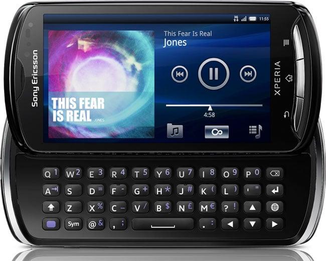 Caratteristiche Sony Ericsson Xperia Pro