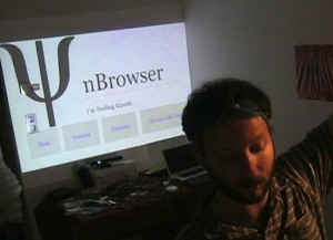 SwimBrowser Uses Kinect To Surf The Internet (video)