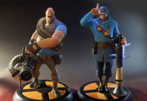 TF2 Character Statues