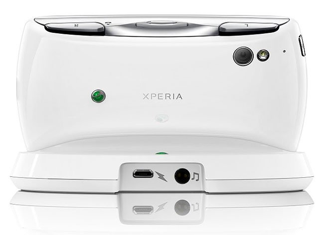 White Sony Ericcson Xperia Play