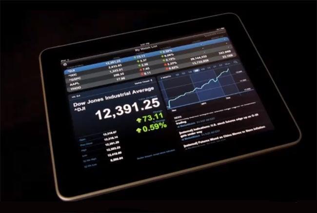 Yahoo Finance iPad App