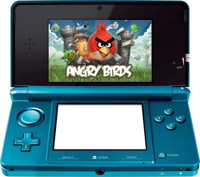Nintendo 3DS Angry Birds Game