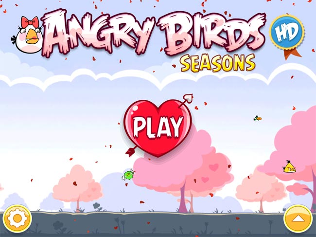 Angry Birds Valentines Edition