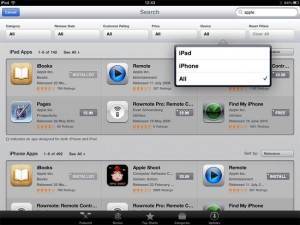 Apple Adds Filtering To App Store