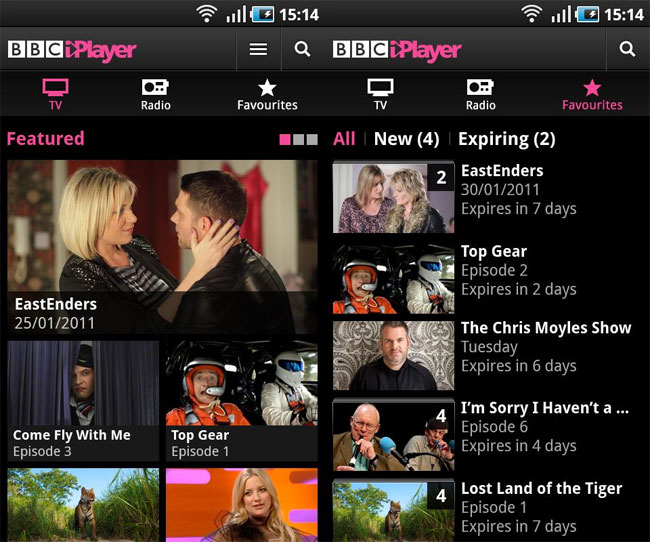BBC iPlayer For Android Released