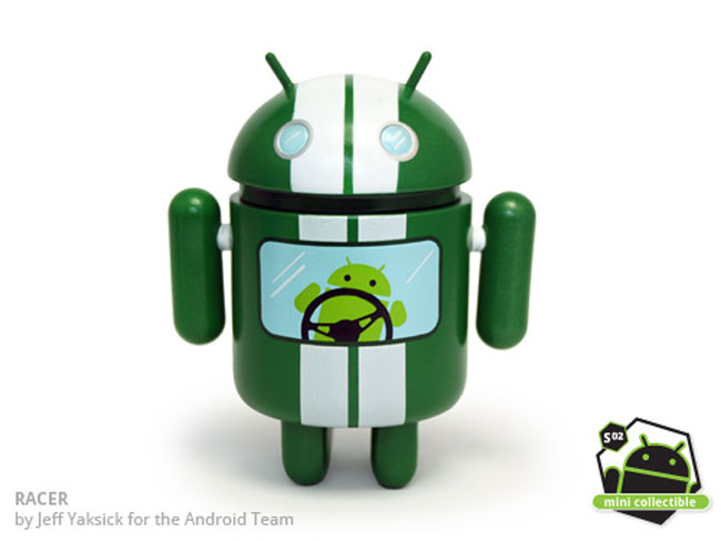 DzyPlastic Android Statues