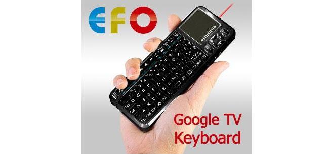 EFO Google TV Keyboard
