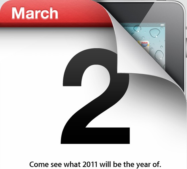 iPad 2 Apple Event