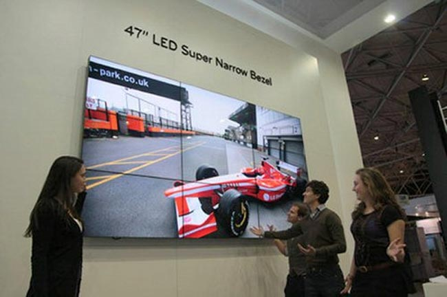 LG's New 47 Inch LED Super Narrow Bezel Display