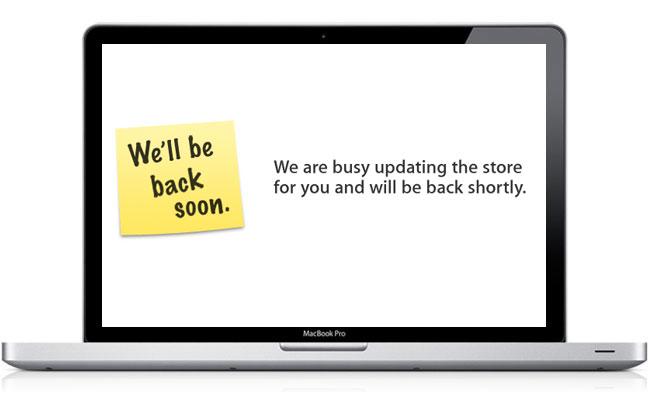 Apple Store Offline For 2011 MacBook Pro Launch