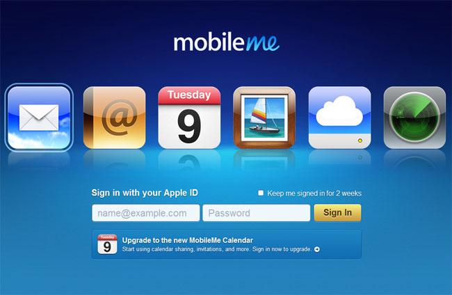 Apple's MobileMe