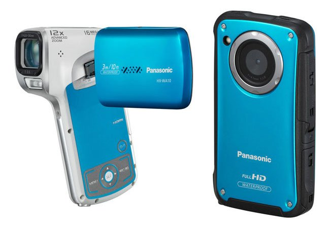 Panasonic Launches Two New HD Camcorders