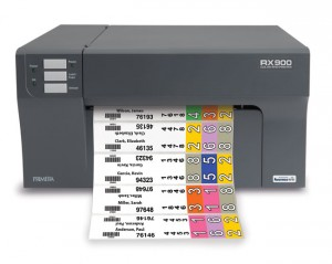 Primera RX900 color RFID Printer is Perfect for the Really Organized Office