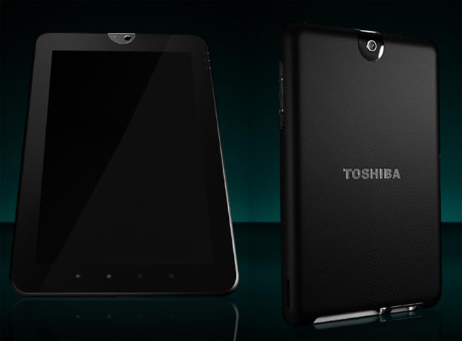 Toshiba's Android Honeycomb Tablet