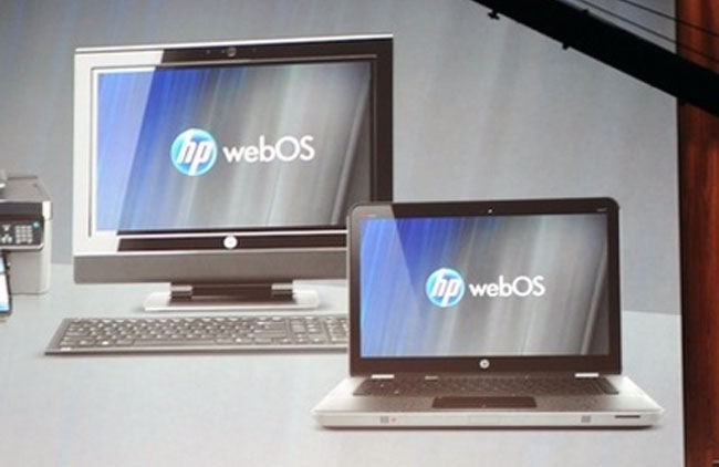 HP's webOS Coming To PCs