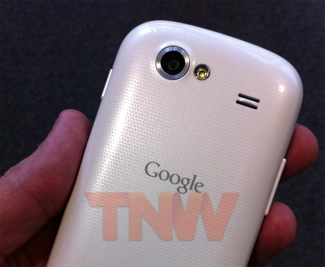 White Google Nexus S