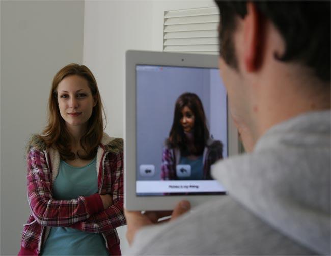 AR Magic Mirror iPad 2