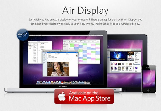 Air Display For Mac