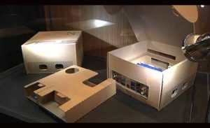 ASUS Motherboard Packaging Doubles As Temporary Cardboard PC Case