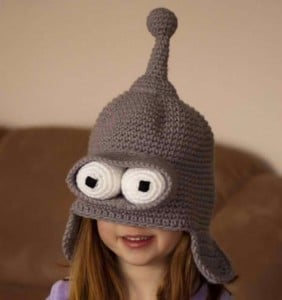 Bender From Futurama Becomes Wearable