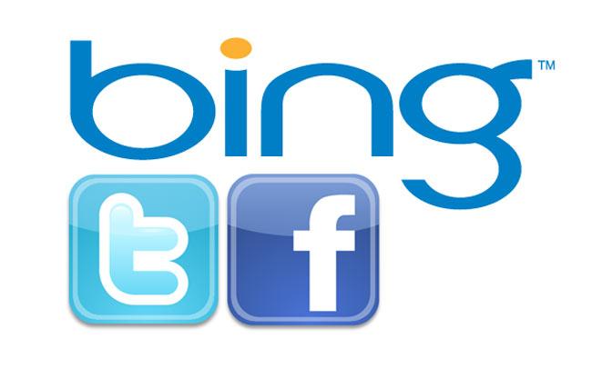 Bing Facebook Twitter