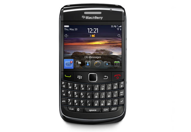 Blackberry 6 hacked