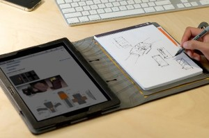 Booqpad Folio : Sketchpad And iPad2 Case Combined