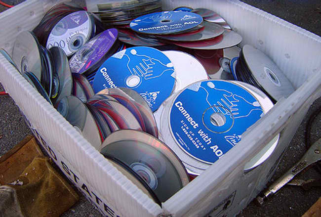 CD garbage