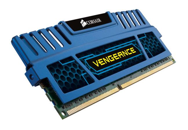 Corsair Cerulean Blue Vengeance DDR3
