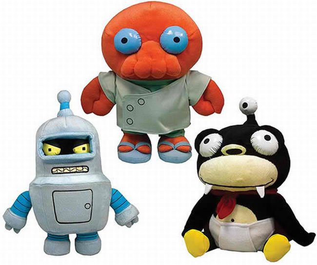 Futurama Plush Toys
