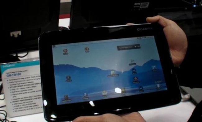 Gigabyte GN-TB100 Tegra 2 Android Tablet