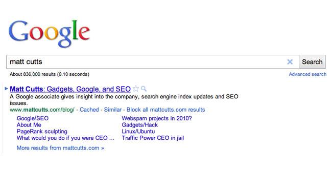 Google Site Block