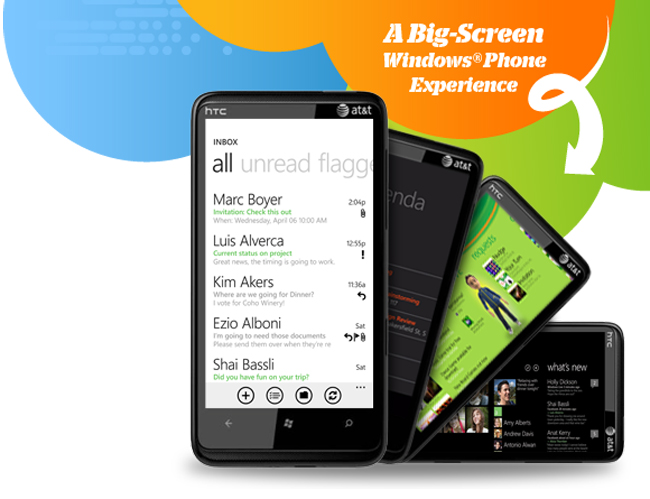 AT&T Announces HTC HD7S Windows Phone 7 Smartphone