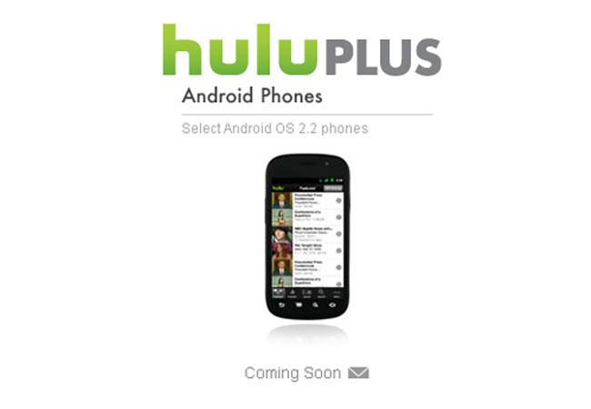 Hulu Plus On Android