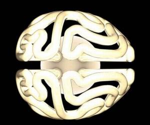 Brain Shaped Bulb From Solovyovdesign Is Quite The Brain Teaser