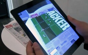 Junaio Augmented Reality iPad 2 App