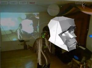 3D Kinect Modelling Hack (video)