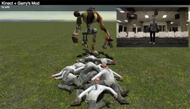 Kinect Garrys Mod