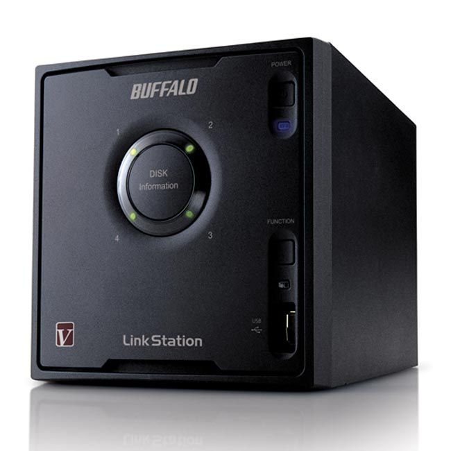 Buffalo Announces The LinkStation Pro Quad NAS Drive